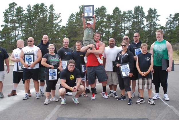 Group shot of the Feats Contestants