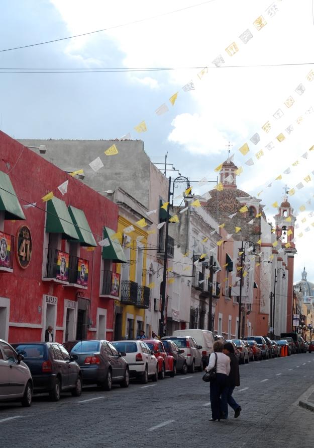 Puebla Street Scene