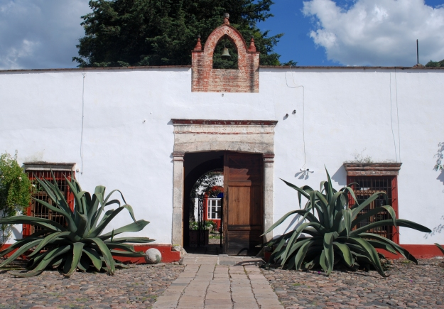 Hacienda Entrance